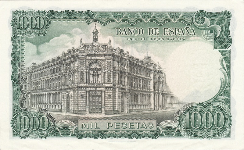 Billete Falso de 1000 Pesetas 1971 (Echegaray) 1971_p12