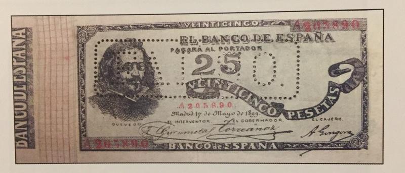 Billetes de Quevedo (1899/1900) - Estadísticas de Tirada A2058910