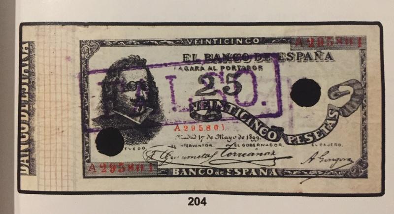 Billetes de Quevedo (1899/1900) - Estadísticas de Tirada A2958010