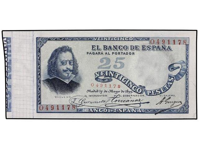 Billetes de Quevedo (1899/1900) - Estadísticas de Tirada O4911710