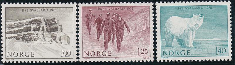 Svalbard/Spitzbergen: Billetes y Monedas Sellos10