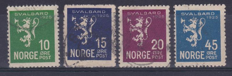 Svalbard/Spitzbergen: Billetes y Monedas Sellos11