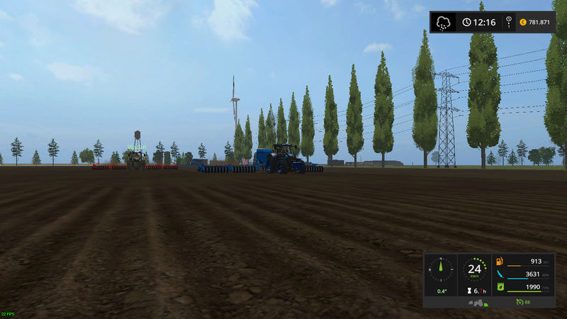 asa se lucreaza pe RoFarm   , apreciez remorca de seminte si fertilizator :) Fsscre19