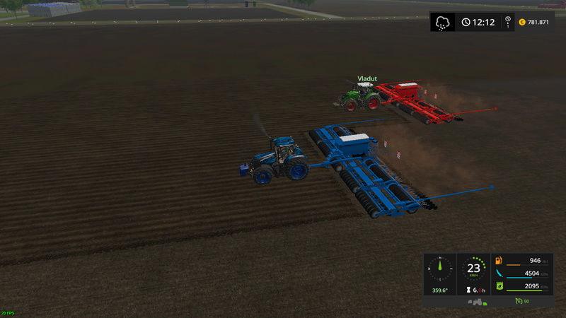 asa se lucreaza pe RoFarm   , apreciez remorca de seminte si fertilizator :) Fsscre20