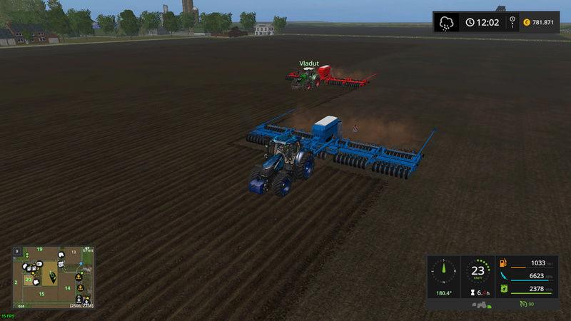 asa se lucreaza pe RoFarm   , apreciez remorca de seminte si fertilizator :) Fsscre22