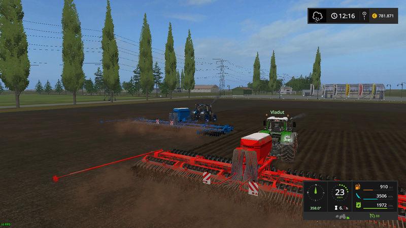 asa se lucreaza pe RoFarm   , apreciez remorca de seminte si fertilizator :) Fsscre24