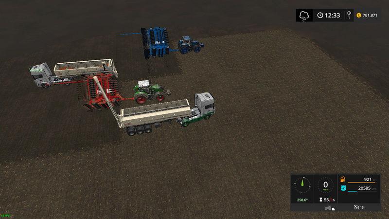 asa se lucreaza pe RoFarm   , apreciez remorca de seminte si fertilizator :) Fsscre29