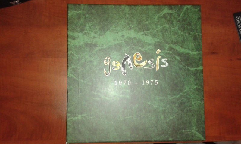 Caja vinilos Genesis 1970-1975 como nuevos 20180219