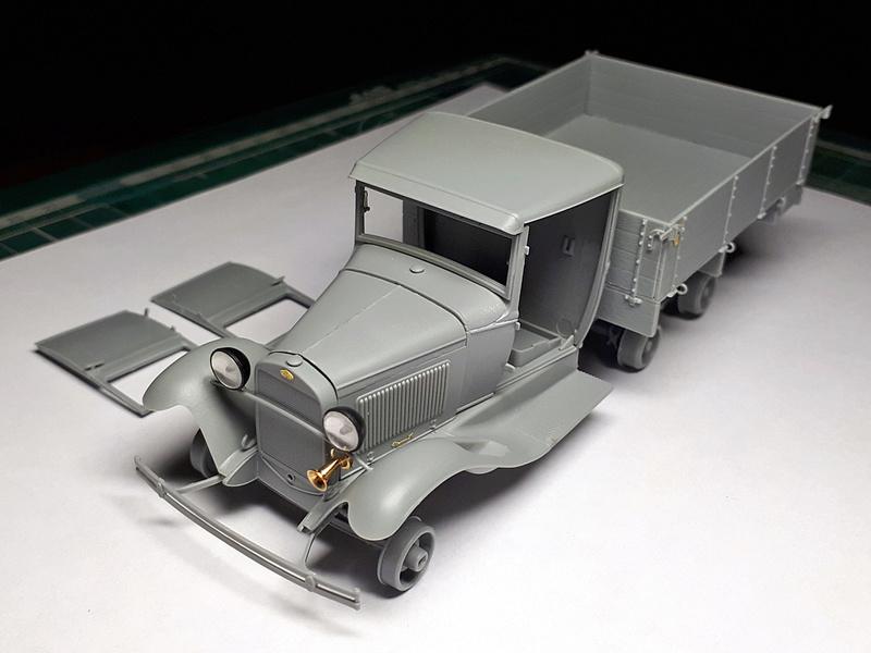 ПАРМ тип А на базе ГАЗ-ААА обр.1940г. ГОТОВО 20180434