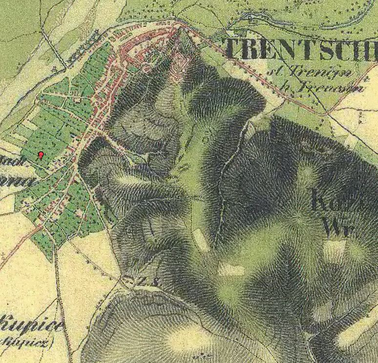 Trenčín - nevýslovná pevnosť Považia 1838_t10