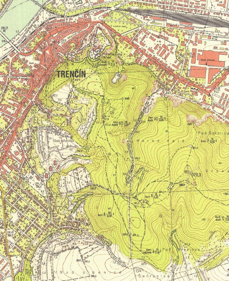 Trenčín - nevýslovná pevnosť Považia 1964a10