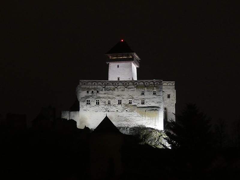 Trenčín - nevýslovná pevnosť Považia P1000410