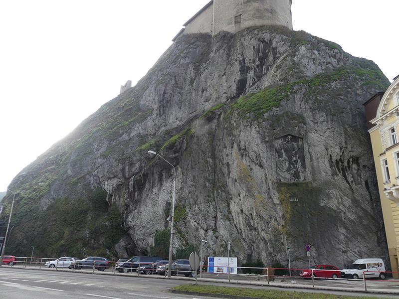 Trenčín - nevýslovná pevnosť Považia P1000512