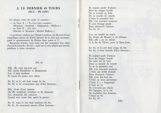 """Discographie N° 90 """"TU N'AS RIEN COMPRIS"""" - Page 4 Img48010"""