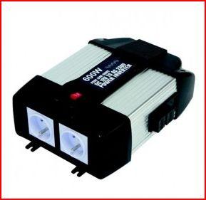 Aménagement électrique du kango, autonomie: Le convertisseur Captur10