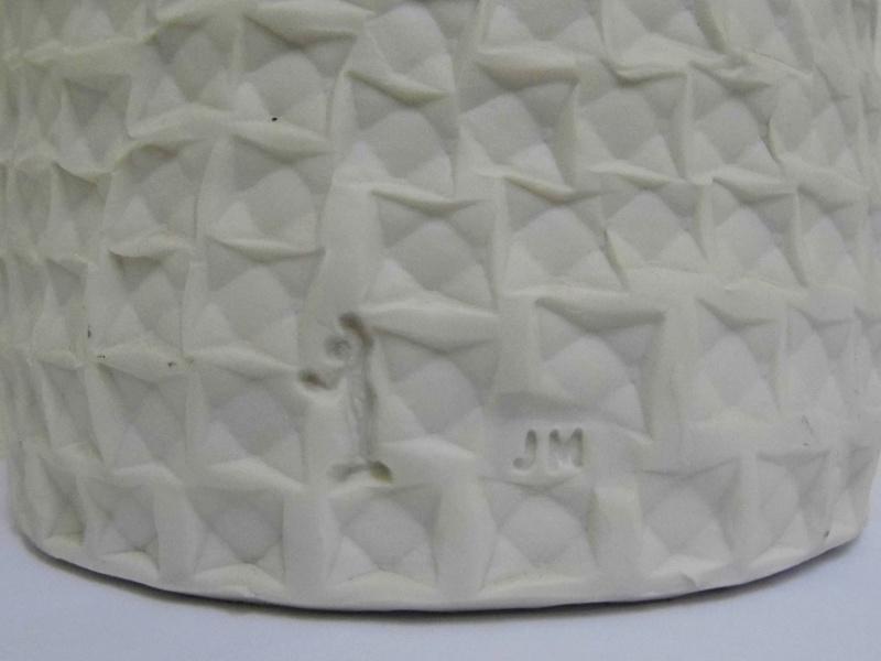 Studio pottery vase identification help needed - JM mark  P1000511