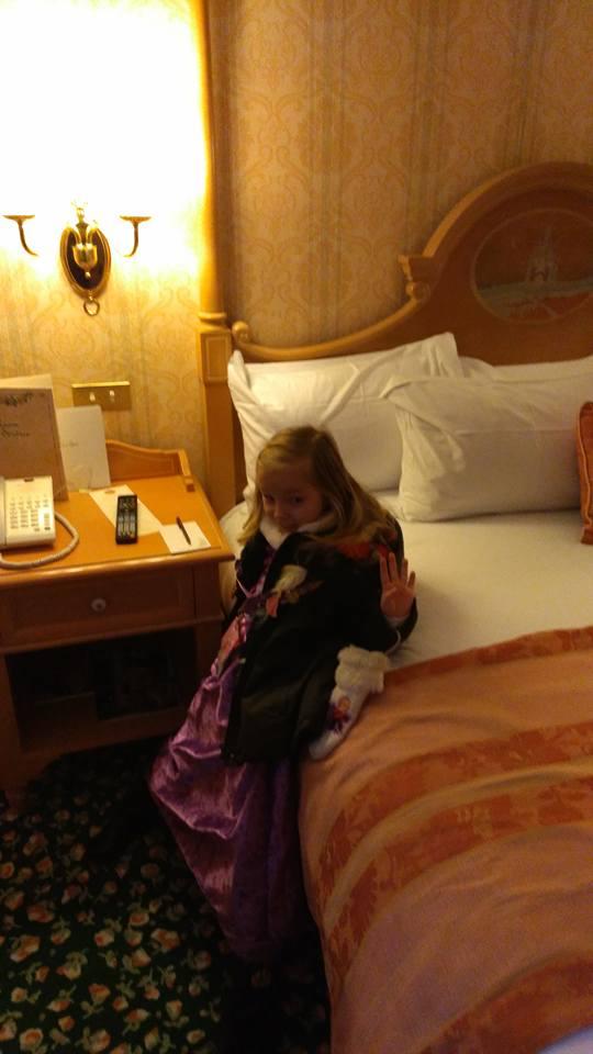TR d'un super séjour au Disneyland Hôtel entre filles (maman et mini princesse) 27332010
