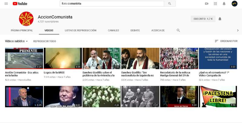 Debate por el canal de You Tube del Foro. Foro_c10