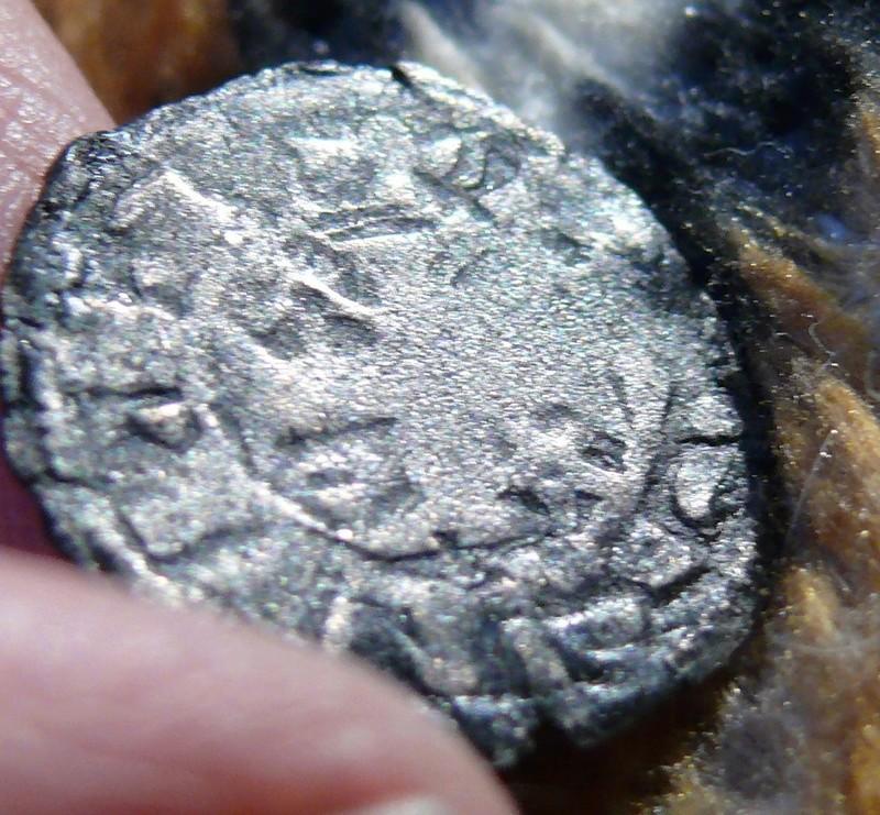 """Dinero pepión de Alfonso VIII tipo """"biempeinao"""" P1090113"""