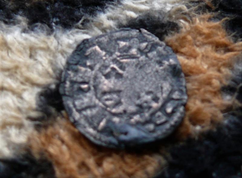 """Dinero pepión de Alfonso VIII tipo """"biempeinao"""" Revers16"""