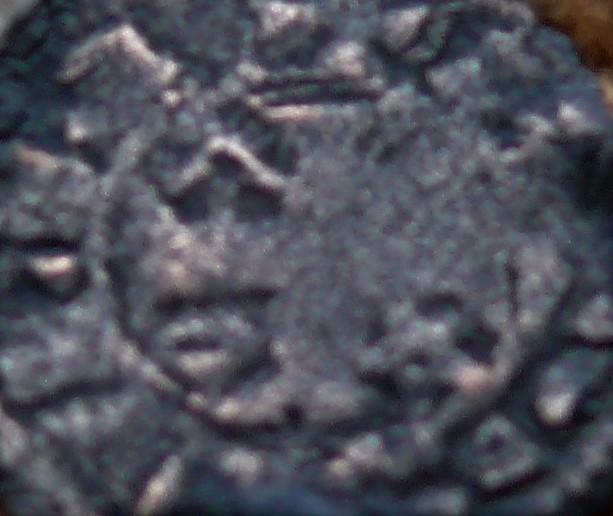 """Dinero pepión de Alfonso VIII tipo """"biempeinao"""" Revers17"""
