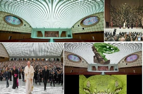 Темные секреты конференц-зала Папы Римского! 1-110