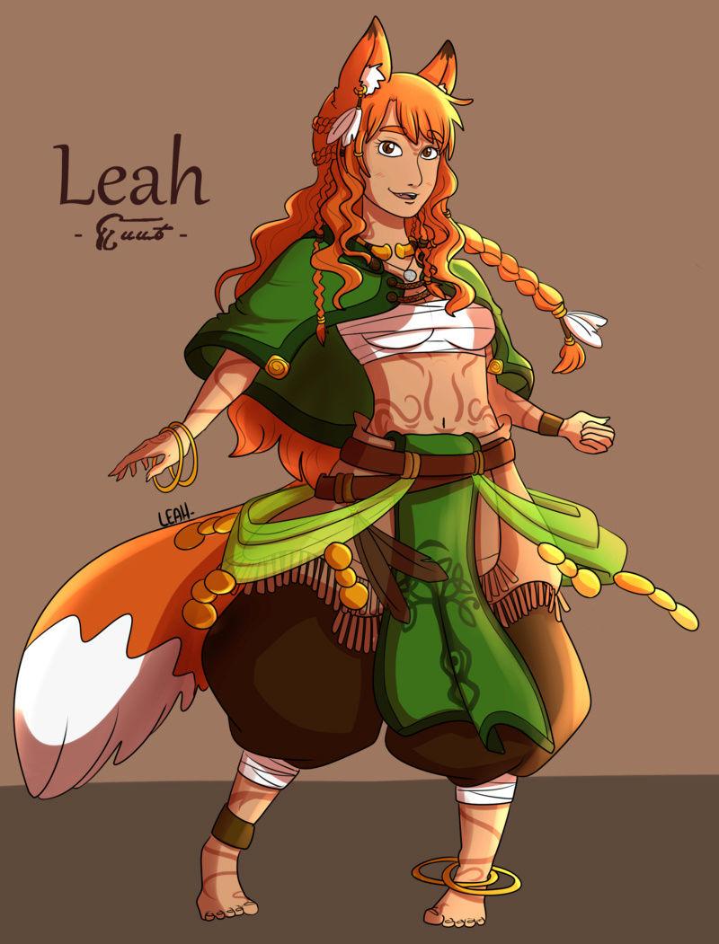 ~ Les dessins d'une renarde ~ - Page 17 Leah210