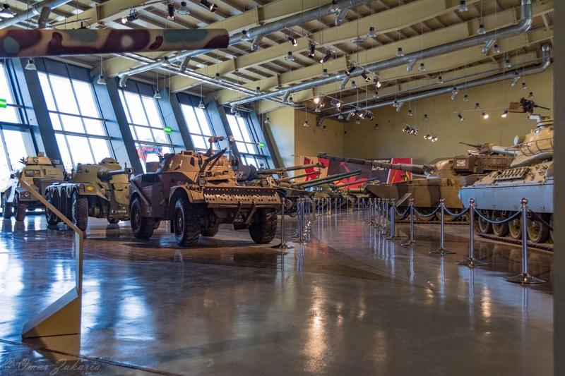ملك الاردن يفتتح متحف الدبابات الملكي في عمان Tanks111
