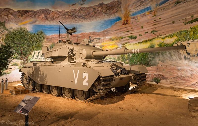 ملك الاردن يفتتح متحف الدبابات الملكي في عمان Tanks510