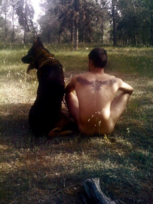 Naturisme en compagnie d'animaux  - Page 6 Tumblr33