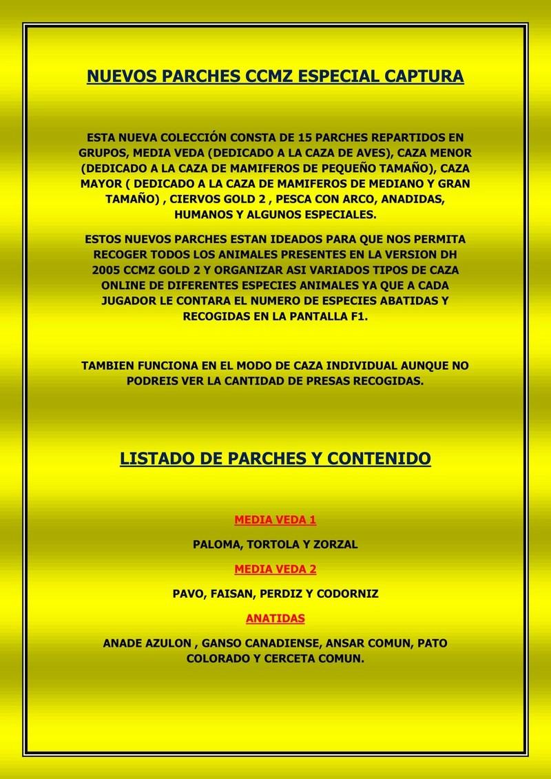 Parches. conversacion general.  Manual10