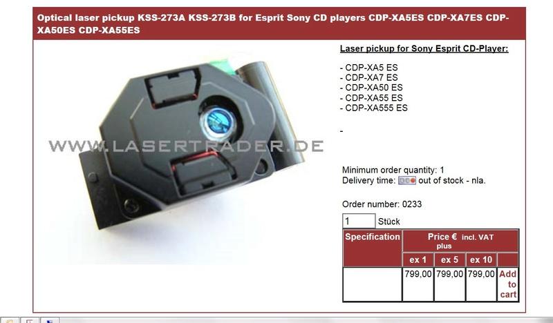 Sony Cdp-xa50es Swoboda audio A+ Captur10
