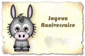 Joyeux Anniversaire  le petit âne des rêves 41010