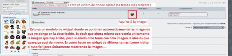 Modificar un código para que se vean las descripciones Tuto210