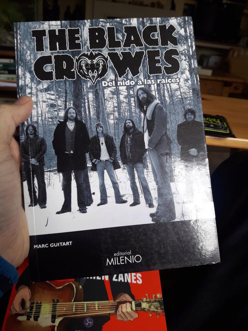 Libro THE BLACK CROWES 'Del Nido a las raíces' - Página 4 15209410