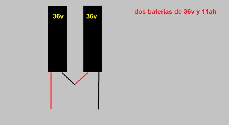 Conexión en serie o en paralelo de las baterías? Bn10