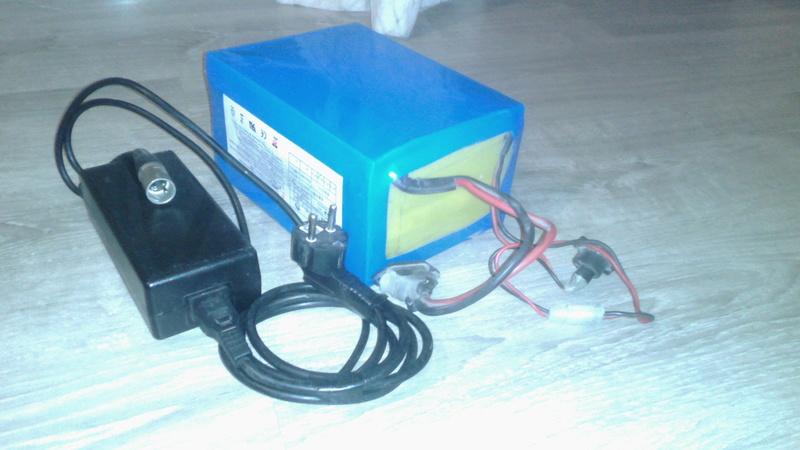 Vendida batería 36v 20ah litio con su cargador Img_2020