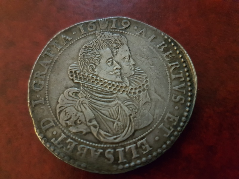 Ducatón de Alberto e Isabel de 1619, Amberes 20180319