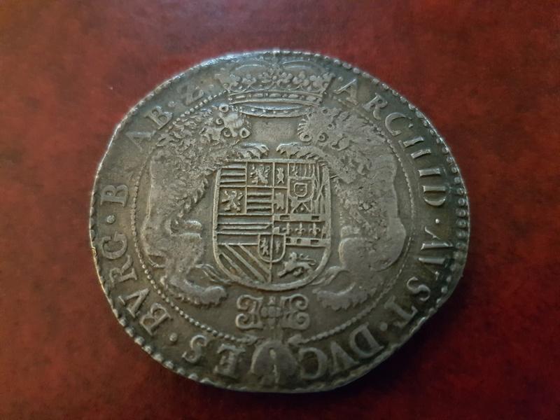 Ducatón de Alberto e Isabel de 1619, Amberes 20180320