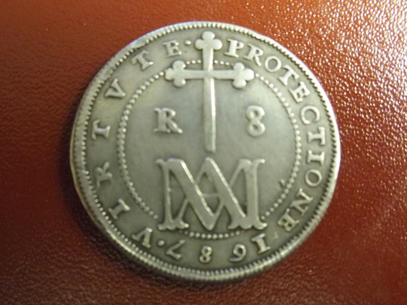 8 reales de Carlos II Segovia 1687 Tipo MARIA P1073613