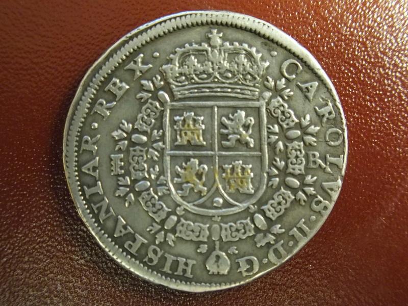 8 reales de Carlos II Segovia 1687 Tipo MARIA P1073614