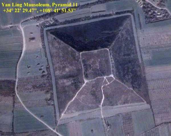 Гигансткие пирамиды Китая 12626810