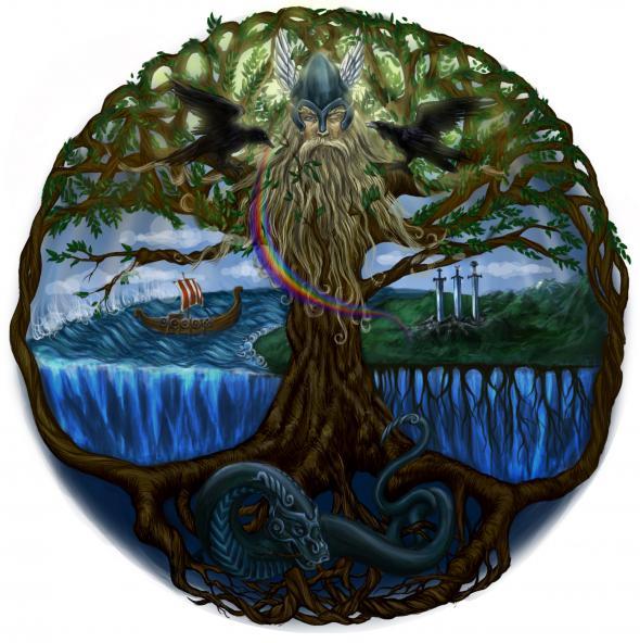 Скандинавский миф о творении мира 8648ec10