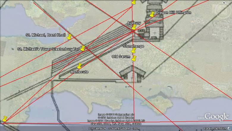 Энергетические  Лей-линии  S8056810