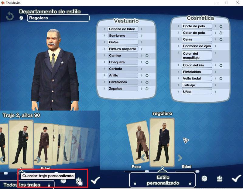 Cómo extraer los costumes de presentadores de galas del juego TM Ccs114