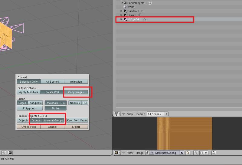 Fusión de texturas y modelo en un único mesh con una sola textura en BLENDER - Página 2 Export10