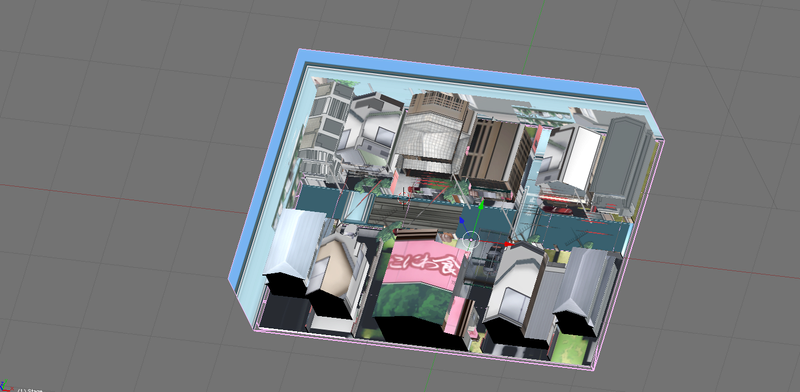 Inversión automática de textura en BLENDER Kubo1015