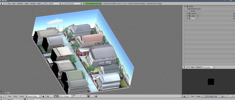 Inversión automática de textura en BLENDER Kubo1016