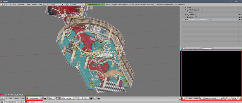 Fusión de texturas y modelo en un único mesh con una sola textura en BLENDER - Página 2 Primer10