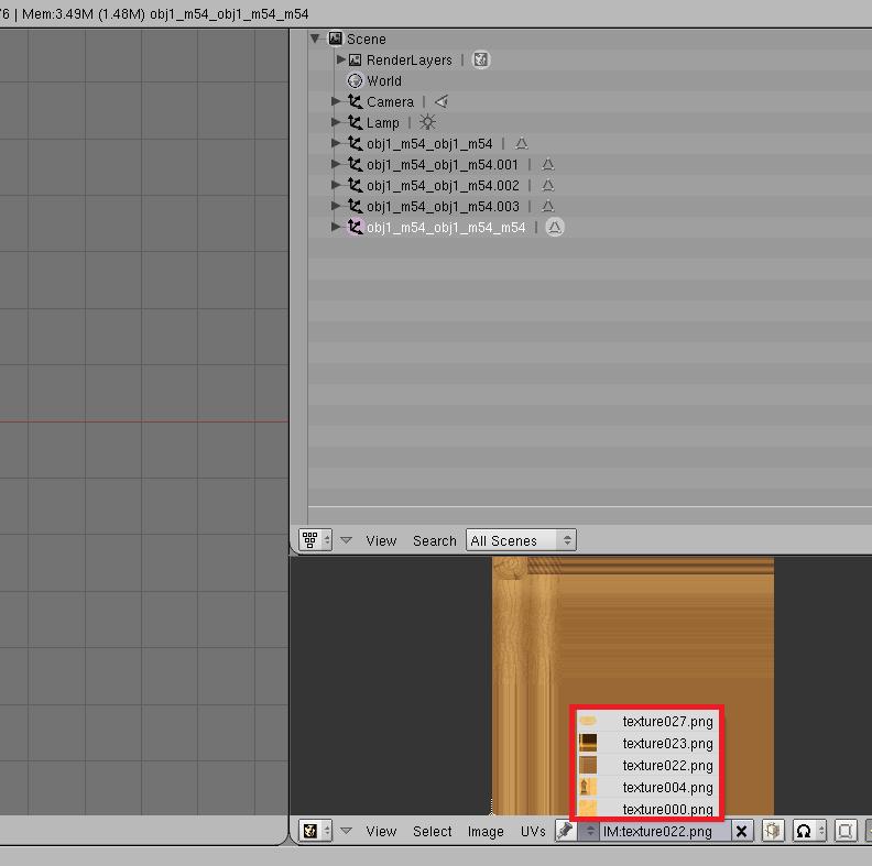 Fusión de texturas y modelo en un único mesh con una sola textura en BLENDER - Página 2 Solved10